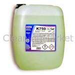 Концентриран мощен почистващ препарат обезмаслител за отстраняване на органични и не органични замърсители K 750, 20 л.