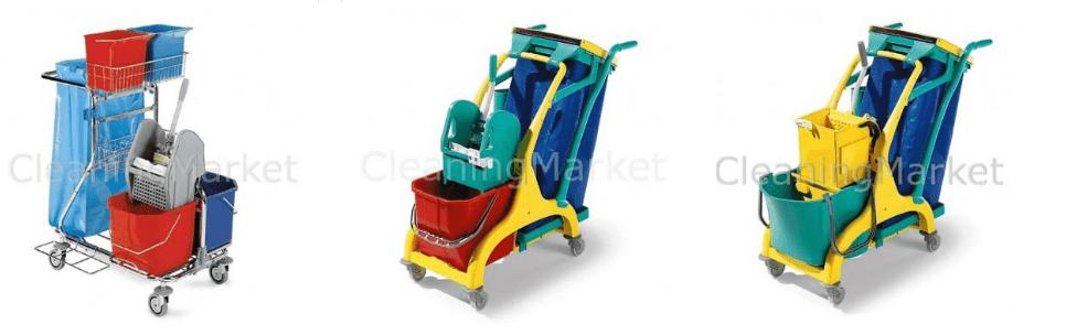 Сервизни колички на добри цени от онлайн магазин CleaningMarket.net